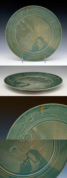 Ron Mello. Green Plate 1.