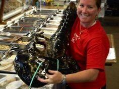 Thats a big lobster!