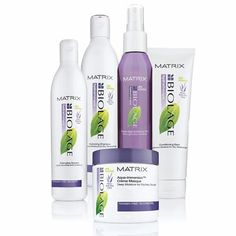 Matrix Biolage hydrathérapie. This stuff is the bomb-diggity. Worth the money and will last long since you don't need much!