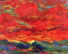 Sky and Sea ~ Emil Nolde