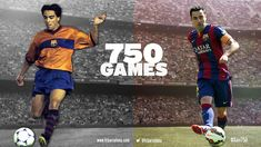 New record for Barça! Xavi plays 750 games! The first team captain, winner of 22 major titles with the club, has further extended his legend. (14-03-2015)