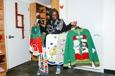 Whoopi Goldberg Plays Fashion Designer (for Real) #styled247