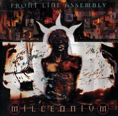 Illustration by Dave McKean, Front Line Assembly- Millennium Dave Mckean, Cool Album Covers, Album Book, Music Industry, Electronic Music, Surface Pattern, Music Artists, Line, Moose Art