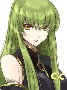 ★ 榧野ぐら | c.c. (code geass) ☆ ✔ republished w/permission