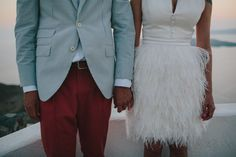 Inspire Wedding | Festival | Wedding dress, bride, groom, outfit inspiration | feathers and peach | still love wedding photography
