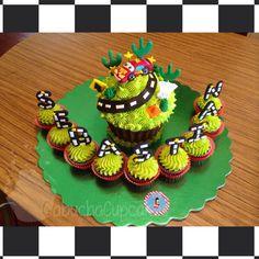 Tema: Cars Giant Cupcake