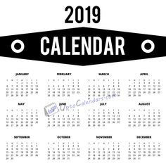 Prepare your annual schedule with our printable calendar Our templates are designed so flexible which you can customize them as Records Search, New Year Is Coming, Pull Apart Bread, 2019 Calendar, Wall Cladding, Natural Skin Care, Food And Drink, Printables, Calendar Printable