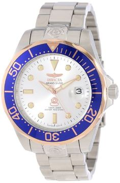 online shopping for Invicta Men's 13789 Pro Diver Automatic Silver Dial Stainless Steel Watch from top store. See new offer for Invicta Men's 13789 Pro Diver Automatic Silver Dial Stainless Steel Watch Sport Watches, Watches For Men, Men's Watches, Ingersoll Watches, Best Sports Watch, Mens Outdoor Clothing, Outdoor Outfit, Watches Online, Stainless Steel Watch