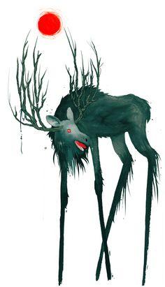 Folklore Illustrations by Jenni Saarenkyla