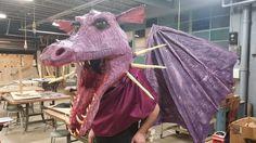richard-drakkes-paper-mache-dragon-mask.jpg (960×540)