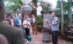 The Escalante & Veranda E - Dinner with Artist Conrad Williams.