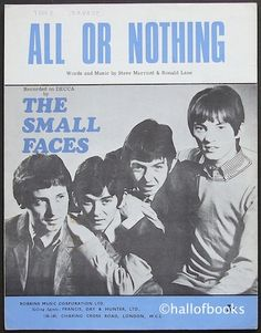 All Or Nothing (The Small Faces) Best record ever recorded. My no. 1 of all time.