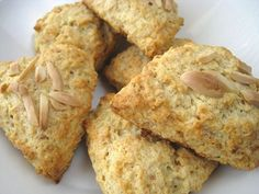 Almond Scones:   8 Delicious Scone Recipes – Simply Stated Blogs - Real Simple