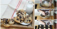 ¡Galletas con chispas de chocolate como las de la abuela!