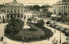 Station Luxemburg - Brussel