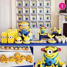 Minion Party - love that cake!