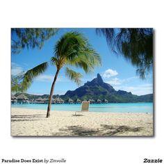 Paradise Does Exist Postcard