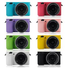 Multicolor Soft Silicone Skin Case Bag Camera Cover Protector for Sony A6000 #UnbrandedGeneric
