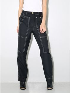 BACK by Ann-Sofie Back Worker trouser black
