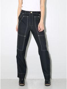 BACK by Ann-Sofie Back Worker trouser black
