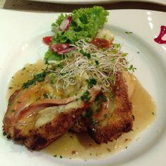 Chicken cheese ham. Greenet pelangi, Johor malaysia.
