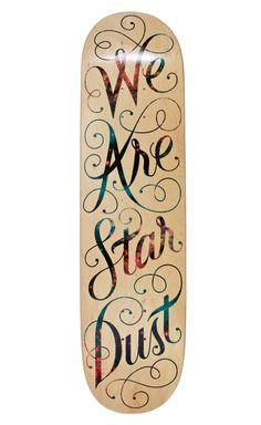 We Are Star Dust, 2012I designed this board forBordo Bello2012.