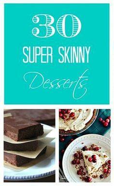 30 Super Skinny Desserts