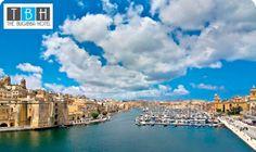 Paraíso del mediterráneo, con clima privilegiado y playas de agua cristalina. Malta es un destino especializado en actividades acuáticas y de ocio  ¿te gusta...?  Incluye también: 1 Crucero por los 2 puertos
