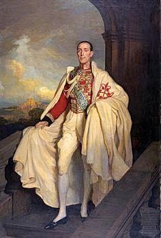 """Jacobo María """"Jimmy"""" FitzJames-Stuart y Falcó, XVIIº Duque de Alba de Tormes y de Berwick, G.E. (1878-1953); Ministro de Estado, Senador y Embajador de España en Londres."""