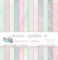 GP-KŚIIBL Królowa Śniegu II 30,5x30,5 cm -bloczek 30,5x30,5 - Galeria Papieru