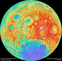 NASA has announced the release of the GLD 100, also known as the most accurate, highest resolution map of the Moon ever created