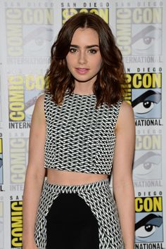 Lily Collins For more visit: www.charmingdamsels.tk