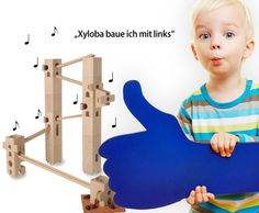 Xyloba marble run online shop, The marble run that makes music Stabil, Marble, Kids Rugs, How To Make, Shopping, Home Decor, Built Ins, Music Instruments, Simple
