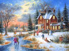 Нарисуй, художник мне, снежно - сказочную зиму!. Обсуждение на LiveInternet - Российский Сервис Онлайн-Дневников