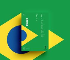 2018 FIFA World Cup Russia – Team Posters by Studio–JQ: Team Brazil