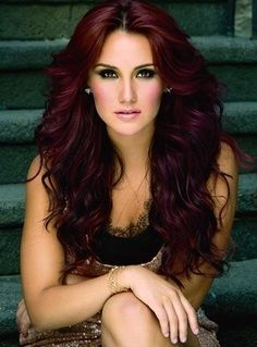 dark brown hair with red tint - Google Search