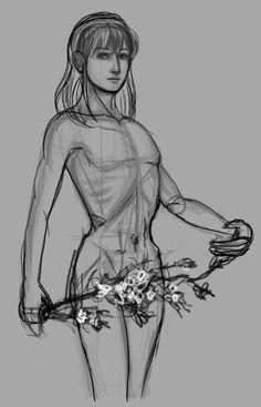 #sketch #doodle #OC #conceptart #design #male #drawing