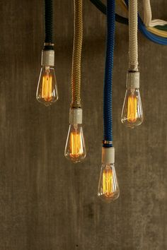 Pendant Light Chandelier Lighting Rope Light Cage Lamp Hanging Light Lighting - Luke Lamp Co.