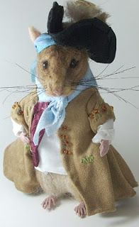 Needle Felted Art by Robin Joy Andreae: Jean-Luc, the Ship Rat ~ a Bonvivant Gentleman of ...
