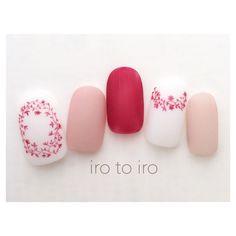 いいね!734件、コメント3件 ― ikueさん(@irotoiro.nail)のInstagramアカウント: 「・ ・ ペルゴラネイル♡ ・ 色違いでもとっても可愛いです♪ ・ @東横線自由ヶ丘隣の田園調布駅から徒歩2分! ・…」 Pretty Nail Art, Cute Nail Art, Cute Nails, Fabulous Nails, Gorgeous Nails, Self Nail, Glamour Nails, Pink Nail Art, New Year's Nails