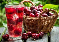 Ľadové kocky s vôňou a príchuťou. Yummy Drinks, Healthy Drinks, Healthy Recipes, Healthy Fit, Healthy Habits, Eating Healthy, Tart Cherry Juice, Cherry Drink, Cherry Lemonade