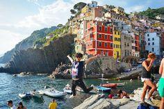 Instagram의 Rk Jung님: 진짜예쁜 친퀘테레 첫번째 마을리오마조레 에서 #travel#trip#backpack#europe#italy#firenze#florence#laspezia#cinqueterre#riomaggoire#daily#selfie#여행스타그램#배낭여행#유럽#이탈리아#피렌체#