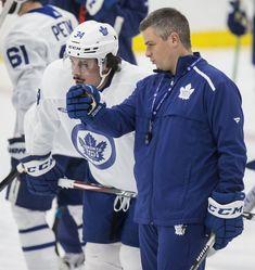 Marner's words, Keefe's deeds in spotlight Nba Coaches, Maple Leafs Hockey, Hockey Season, Nhl Games, Carolina Hurricanes, Coach Me, National Hockey League, Toronto Maple Leafs, New York Rangers