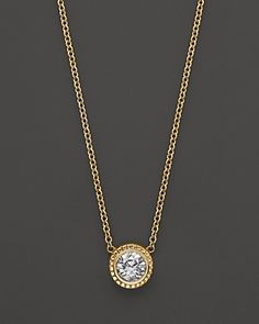 Bloomingdale's Diamond Pendant Necklace in Yellow Gold, ct. - Exclusive Jewelry & Accessories - Fine Jewelry - All Fine Jewelry - Bloomingdale's Diamond Solitaire Necklace, Diamond Pendant Necklace, Diamond Jewelry, Gold Jewelry, Fine Jewelry, Diamond Necklaces, Gold Necklaces, Jewellery, India Jewelry