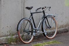 Beautiful Bicycle: Map Porteur 650b Disk-ville City Bike