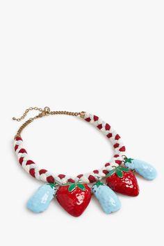 Collar frutas - collares | Adolfo Dominguez shop online