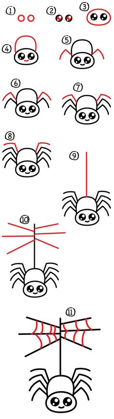 Get those little artists ready, today we're learning how to draw a cartoon spider and spider web! Your kids will need: Paper Marker Black & Red Oil Pastel This activity is simple and easy for younger artists! When they're finished drawing their spiders, challenge them to draw more spiders on their own. They could draw … #OilPainting
