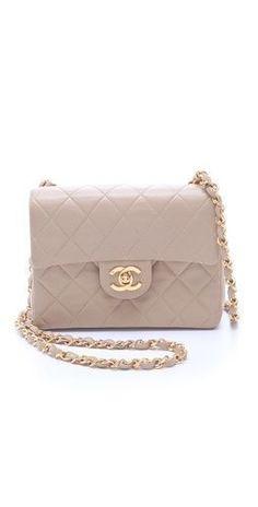Vintage Chanel Mini Flap Bag, my dream bag Chanel Handbags, Luxury Handbags, Chanel Bags, Chanel Chanel, Designer Handbags, My Bags, Purses And Bags, Chanel Vintage, Sacs Design
