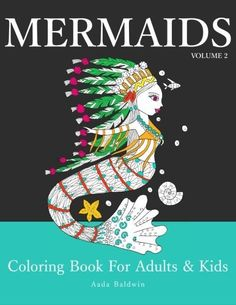Mermaids: Coloring Book for Adults & Kids (Mermaid Colori... http://www.amazon.com/dp/1533126526/ref=cm_sw_r_pi_dp_oclnxb0FAZNWQ