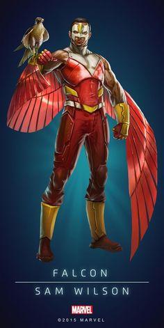 "Marvel Comics: Falcon ""Sam Wilson"""